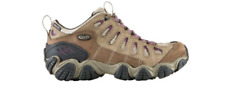 OBOZ WOMENS SAWTOOTH LOW BDRY HIKING SHOE - VIOLET