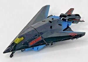 Transformers 1995 G2 Cyberjets AIR RAID Black Plane Jet Autobot Figure