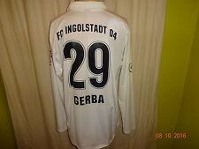 "FC Ingolstadt Nike Langarm Matchworn Trikot 2007/08 ""Audi"" + Nr.29 Gerba Gr.L"