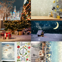 Christmas Xmas Table Backgrounds Cloth Photo Studio Fabric Party Home Decor Gift