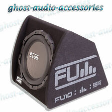 "Fli Underground FU12A Active 12"" Subwoofer Sub Enclosure / Box with 10g Amp Kit"