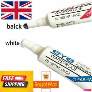 EYE-DUO Waterproof False Eyelashes Adhesive Strong Eyelash Glue Clear/Black/2X