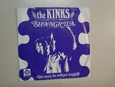 "KINKS: Shangrila- This Man He Weeps Tonight- Holland 7"" 1969 PYE 7N- 17812 PSL"