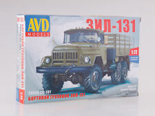 ZIL 131 Unassembled Kit AVD Models by SSM 1:72