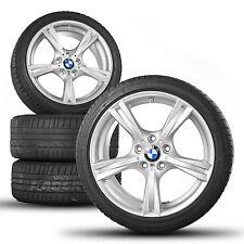 ORIGINALE BMW 18 Pollici Cerchioni z4 e89 CERCHI IN LEGA GOMME ESTIVE ESTATE RUOTE m325 M 325