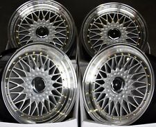 "16"" DARE RS 8.0 ALLOY WHEELS FITS 5X114 FORD LEXUS MITSUBISHI NISSAN SEE LIST"