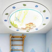 Design Kinder Zimmer Decken Beleuchtung Affe Vogel Tier Figuren Jungen Lampe E27