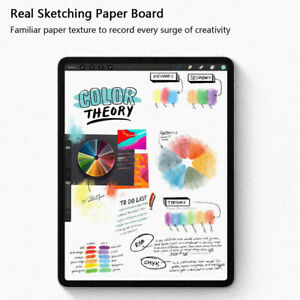 For Apple iPad Pro 12.9 11 2020 10.5 10.2 Paperlike Matte Film Screen Protector