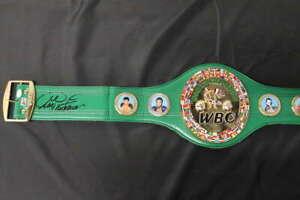 GEORGE FOREMAN SIGNED WBC REPLICA WORLD CHAMPIONSHIP BELT JSA COA JB1409