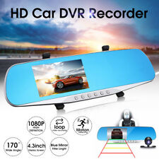 "Full HD Car Rear View Kit 4.3"" LCD Mirror Monitor With Free Reversing Camera"