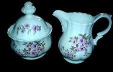 WUNSIEDEL RETSCH BAVARIA GERMANY WUN37 Pink Blossom PATT ZUCCHERIERA + Brocca c1960