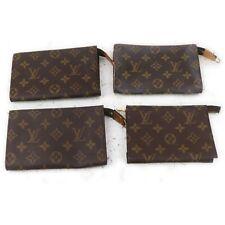 Louis Vuitton Monogram Cosmetic Pouch 4 pieces set 516569