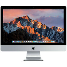 """Apple iMac 27"""" (8Go, AMD Radeon Pro 575, 3,50 GHz, 1To) Tout-en-un - Argenté"""