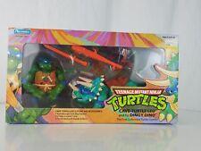 Cave-Turtle Leo & Dingy Dino TMNT Teenage Mutant Ninja Turtles Set - NEW 1992