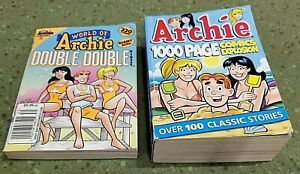PB Lot: 2013 WORD OF ARCHIE DOUBLE DOUBLE 30 & 1000 Page Comic Explosion 2014