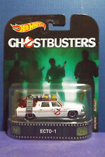 HOT WHEELS GHOSTBUSTERS ECTO-1 - 2017 Retro Entertainment - Real Riders
