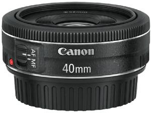 Objetivo - Canon 40mm f/2.8 STM, EF