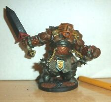 "REAPER BONES 3 FIRE Giant WARRIORS 6"" TALL PAINTED PATHFINDER DUNGEONS DRAGONS B"