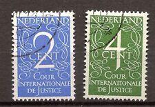 Nederland - 1950 - NVPH Dienst 25-26 - Gebruikt - DO357