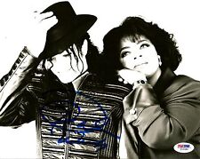 Oprah Winfrey Signed Auto 8x10 Photo w/ Michael Jackson PSA/DNA COA