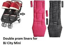 Double pram liners for Bj City Mini Double Pushchair