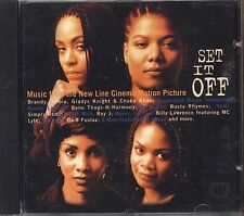 Set it off - QUEEN LATIFAH BRANDY BUSTA RHYMES - CD OST 1996 NEAR MINT CONDITION