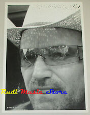 STAMPA FOTOGRAFICA BONO VOX U2 poster 42X31 cd dvd vhs lp live mc