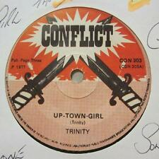 "TRINITY/Prince Jammy & the aggrovators (7"" vinyle 1st question) uptown girl/- EX/VG"