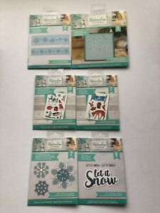 Crafters Companion NEW  Watercolour Christmas DIES.  6 DIFFERENT CRAFT SETS