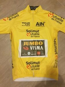 Maillot jaune du Tour de l'Ain 2020 Primoz ROGLIC
