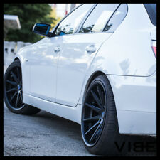"19"" ROHANA RC10 BLACK CONCAVE MULTISPOKE MULTI SPOKE WHEELS RIMS FITS BMW E39 M5"