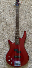 Ibanez FSJ200  Left Handed Bass Red With Deluxe Gig Bag