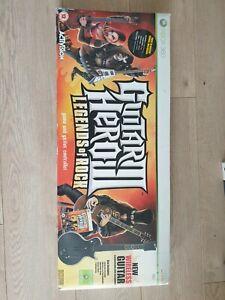 Boxed Xbox 360 Guitar Hero 3 Legends Of Rock Wireless Guitar + Game Bundle