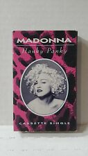 Madonna Hanky Panky Cassette Single