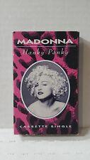 Madonna Hanky Panky Cassette Single
