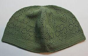 New Kufi Hat Men / Boys Turkish Koofi Topi Kofi Head Cap - Multi-Colors One Size