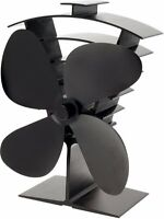 Valiant Premium 4 Blade Heat Powered Log Burner Stove Fan - FIR361