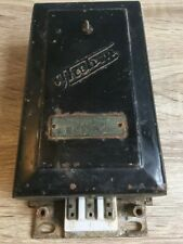 Antique Electric Time Switch Vintage Timer Cast Iron Theben Germany Light