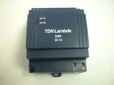 TDK Lambda DSP60-12 12VDC 54 Watt 4.5 Amp 11.5-14.4vdc Din Rail Power Supply