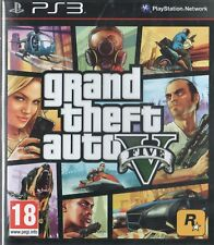 Grand Theft Auto V Sony Playstation 3 PS3 18+ Action Game