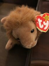 *WOW* Mint Condition Rare - Ty Roary Beanie Baby with several errors