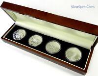 2011 COMMEMORATIVE FLORIN FOUR Coin Silver Set