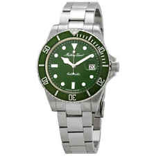 Mathey-Tissot Rolly Vintage Automatic Green Dial Men's Watch H9010ATV