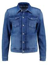 New Pepe Jeans ROOSTER Retro Mod 000 Denim Jacket Coat Blue Slim Fit Small BNWT