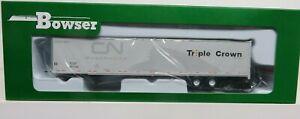 BOWSER 53' Duraplate ROADRAILER  NS / TRIPLE CROWN  ex-CN  NIB (assorted #'s)