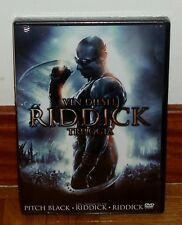 TRILOGIE RIDDICK-3 DISQUES DVD-NEUF SCELLÉ NEUF SCIENCE FICTION-ACTION