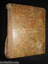 Rare Bound Collection of 12 Swiss 1860 Year Almanacks - Switzerland, Prophecies