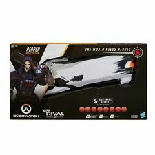 New! Nerf Rival Overwatch Reaper (Wight Edition) w/ 8 Overwatch Rival Rounds