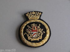British Airways 1970's Cabin Crew Gold Bullion Wire Hat Badge