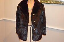 designer dior  black mink fur jacket coat xs/s
